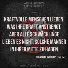 Heutzutage leider mehr als oft wahr. Sollte man sich wegen seiner Leidenschaft etwa schämen...? Wir sagen: Mit Sicherheit nicht! - Aesir Sports & www.AesirSports.de