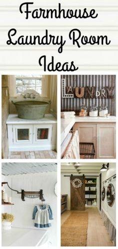 Farmhouse Laundry Room Decor and Ideas - KnickofTime.nt