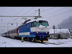 ZSSK 350.014 - Ex 126 BEČVA - Strážov (Žilina) - YouTube Trains, Vehicles, Youtube, Vehicle, Youtube Movies, Tools