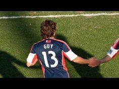 Ryan Guy scores against Real Salt Lake, May 8, 2013.