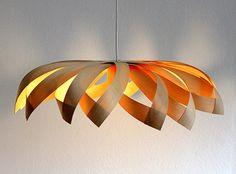 Wooden veneer lamp Tusindfryd / pendant lighting by Yndlingsting