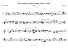 diegosax: La marcha Imperial de Johnn Williams partitura para Flauta fácil, saxofón alto, trompeta, clarinete, violín, trombón, saxo tenor, flauta travesera y flauta dulce, viola, violonchelo, oboe, tuba, fliscorno, fagot, bombardino, saxo soprano, barítono... para tocar con la música The Imperial March Sheets Music Partituras de Star Wars Music scores