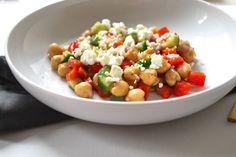 Quick Balsamic Chickpea Salad recipe on Food52