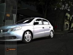 "http://www.specialcars.com.br/vitrine/gol-g5-rebaixado-aro-16 Novo Gol prata socado de Orbital 16""   Really dropped New VW Gol with 16"" rims"