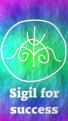 Sigil for success Famous Quotes For Success Wiccan Symbols, Magic Symbols, Wiccan Spells, Magic Spells, Witchcraft, Luck Spells, Chakra Symbols, Under Your Spell, Book Of Shadows