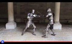 Infilzami fellone, tanto sono già vestito #medioevo #armature #spade #combattimenti