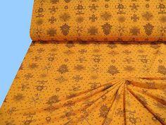 PIKEE-JERSEY ...orange - braun (507867) 2.Wahl von STOFFLISI auf Etsy