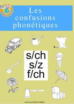 Les confusions phonétiques : s/z - s/ch - f/ch - Educaland.com