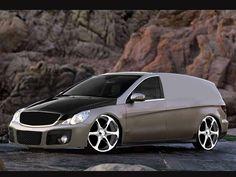 Mercedes-Benz by john-mac-design on DeviantArt Mercedes Benz R350, John Mac, Mini Vans, Melting Pot, Hot Rods, Cube, Transportation, Garage, Delivery