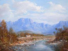 Gabriel De Jongh Gabriel, South Africa Art, South African Artists, Our World, All Art, Landscape Paintings, Parks, Art Photography, Landscaping