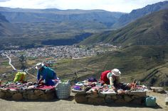 Colca Tour - road to Chivay