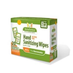 Amazon.com: BabyGanics Hand Sanitizing Wipes Indiviually Wrapped, 20 Count, Packaging May Vary: Health & Personal Care