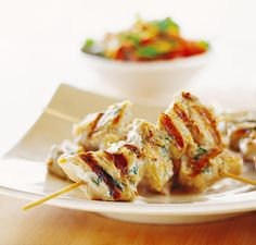 Moroccan Grilled Fish Kebabs: A Great Appetizer or Main Course