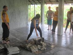 Concrete Roof Tiles, Pai Thailand, Meditation For Health, Qigong, Kung Fu, Stretching, Martial Arts, Flexibility, Asia