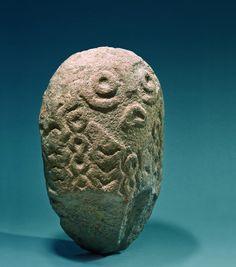 Title:WATER FAIRY Site:LEPENSKI VIR Location/Region:BOLJETIN, ĐERDAP Chrolonology:10000 BC - 4000 BC Museum:NATIONAL MUSEUM IN BELGRADE Country:SERBIA Epoch:MESOLITHIC Culture:LEPENSKI VIR CULTURE Closer Dating:6300 – 5900 BC Material:QUARTZ SANDSTONE Dimensions:38 x 26 cm