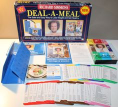 picture relating to Deal a Meal Cards Printable identify 9 Suitable Package deal-A-Supper shots inside 2017 Richard simmons, Food items, Food plan