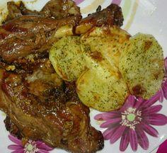 Cocina Basica y Fresca: PIERNA DE CRODERO ASADA AL VINO CBF@