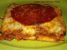 Deep Dish Biscuit Pizza