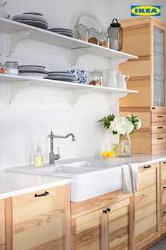 Knock some scents into your kitchen. The Kitchen Event is on now, with up to 20 back in IKEA gift cards March 13 - April Kitchen Redo, Kitchen Cupboards, New Kitchen, Kitchen Remodel, Kitchen Design, Kitchen Ideas, Kitchen Pictures, Wooden Kitchen, Cabinets