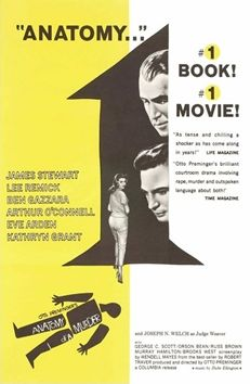 """""""Anatomy of a murder"""" American Movie Poster by Saul Bass (Otto Preminger / Saul Bass, Internet Movies, Movies Online, Eve Arden, Murder, Full Movies Download, Classic Films, Streaming Movies, Vintage Movies"""
