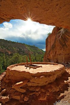 USA, New Mexico, Bandelier National Monument