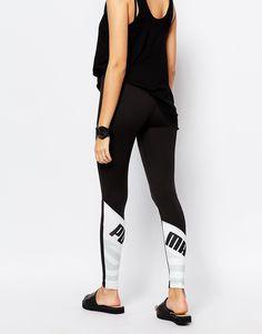 Image 4 ofPuma Leggings With Back Logo Detail