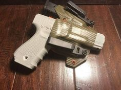 Burly Man Tactical Proudly Presents: All holsters are made to order: Allow 2-WEEKS from purchase date to ship. All items are shipped in USA via USPS 2/3day mail. Holster Model: Wingman (Never pickup a girl you met on Craigslist without him) Color: OD Green and HunterOrange Kydex