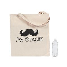 "Quite a stylish place to ""'stache"" your stuff! - OrientalTrading.com"