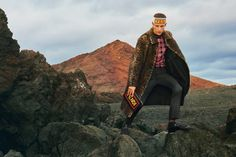 Nicolas Ripoll fronts the Fall/Winter 2017 campaign of Fendi, shot in Lanzarote.