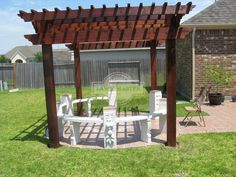 Lawn Master Outdoor Living : 1000+ images about Pergolas and Pavilions on Pinterest ...