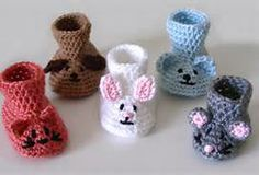 Free Crochet animal Slipper Patterns - Bing Images