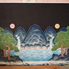 관련 이미지 Oriental, Geisha Art, Korean Art, Korean Traditional, Cartography, Art Inspo, Cool Art, Diy And Crafts, Beast