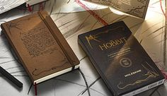 The Hobbit Clothbound Moleskine notebook