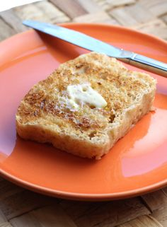 English Muffin Bread made in Microwave.