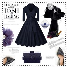 """Elegance with a dash of daring"" by ildiko-olsa ❤ liked on Polyvore featuring J.Crew and Chanel"