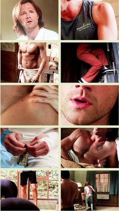 [GIFSET] Oh, just a little Sam + body appreciation @nicolehuds