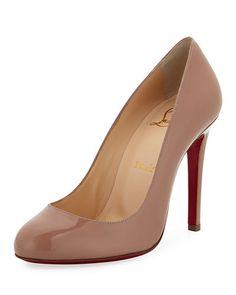 17223060da82 CHRISTIAN LOUBOUTIN BIBLIO 85MM PIPED CUTOUT RED SOLE PUMP.   christianlouboutin  shoes