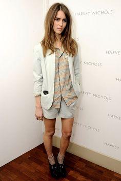 Jade Williams at the Harvey Nichols summer fashion show - celebrity fashion