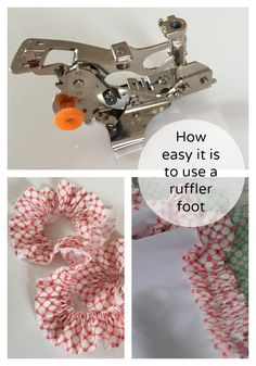 How to Use a Ruffler for sewing pleats or gathers — Phoebe&Egg Part of the Doll Dressmaking Series
