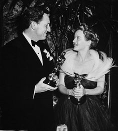 Spencer Tracy and Bette Davis.