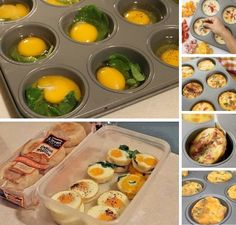 Make These Mini Frittatas for a Quick Breakfast in a Muffin Tray