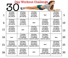 New years fitness resolution! 🙂 New years fitness resolution! 🙂 More from my siteA Crazy Challenge Resolution A Crazy Challenge Resolution 30 day arm challenge Monthly Workout Plans, Workout Schedule, Monthly Workouts, Workout List, Workout Routines, Easy Workouts, At Home Workouts, Summer Workouts, Beach Body Workout Plan