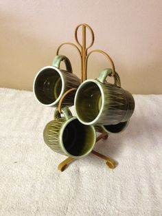 Mug Tree Set by TheCharmingAttic on Etsy, $12.00