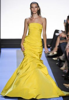 Lemon Ball Gown by Monique Lhuillier