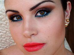 Makeup by Natasha Sheeny Pocahontas Makeup, Make Up, Rings, Jewelry, Jewlery, Jewerly, Ring, Schmuck, Makeup