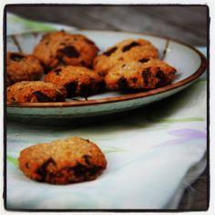 Gezonde koekjes met havermout Healthy Snacks, Healthy Recipes, Cecile, Dessert Recipes, Desserts, Muffins, Bakery, Cookies, Food