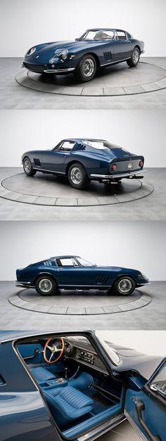 Ferrari 275 GTB/4 1967. I hope the leather is original!