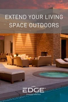 As more Americans spend time at home this summer, there has been a surge in outdoor amenities. Browse ideas on how to extend your living space outdoors. #shiplap #ufpedge #outdoorspaces