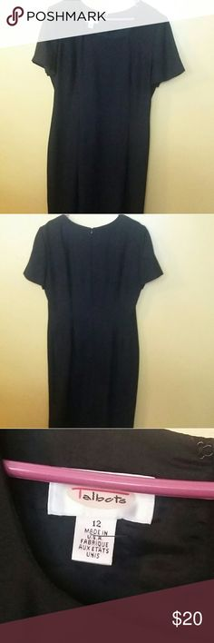 "TALBOT BASIC BLACK DRESS Little black dress perfect for any occasion.  Size 12 ; length 35"" Dresses Midi"