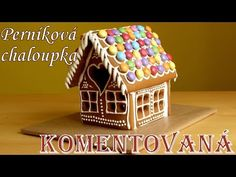 Perníková chaloupka pro děti. Komentovaný postup. - YouTube Sweet Recipes, Christmas Time, Gingerbread, Bird, Outdoor Decor, Crafts, Youtube, Home Decor, Cookies